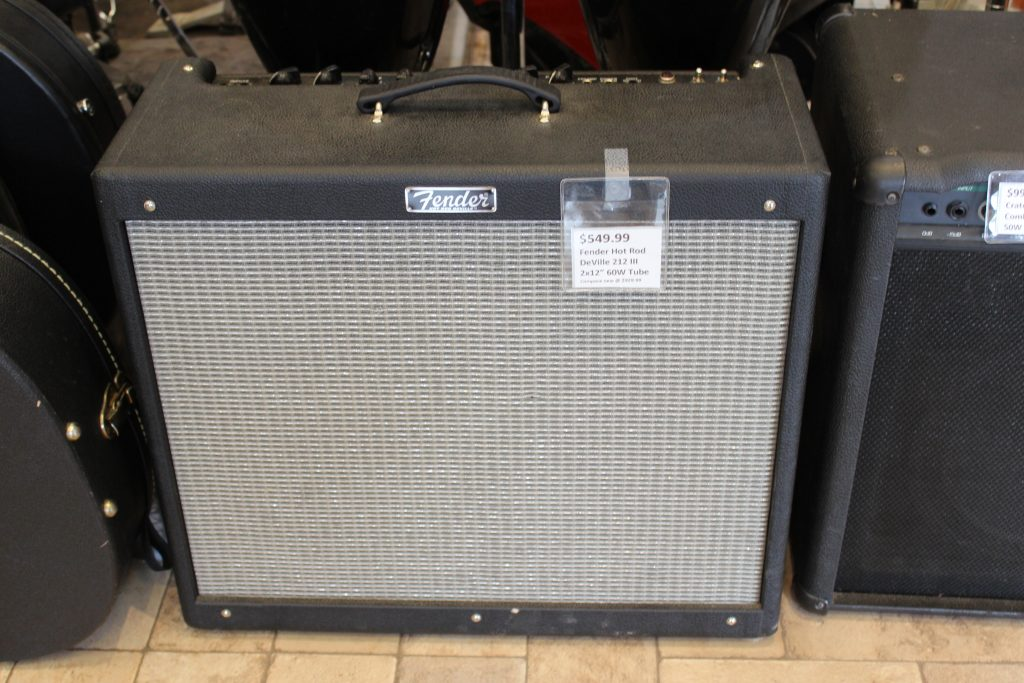 fender hot rod deville 212 iii 2x12 60w tube amp used ted 39 s pawn shop. Black Bedroom Furniture Sets. Home Design Ideas