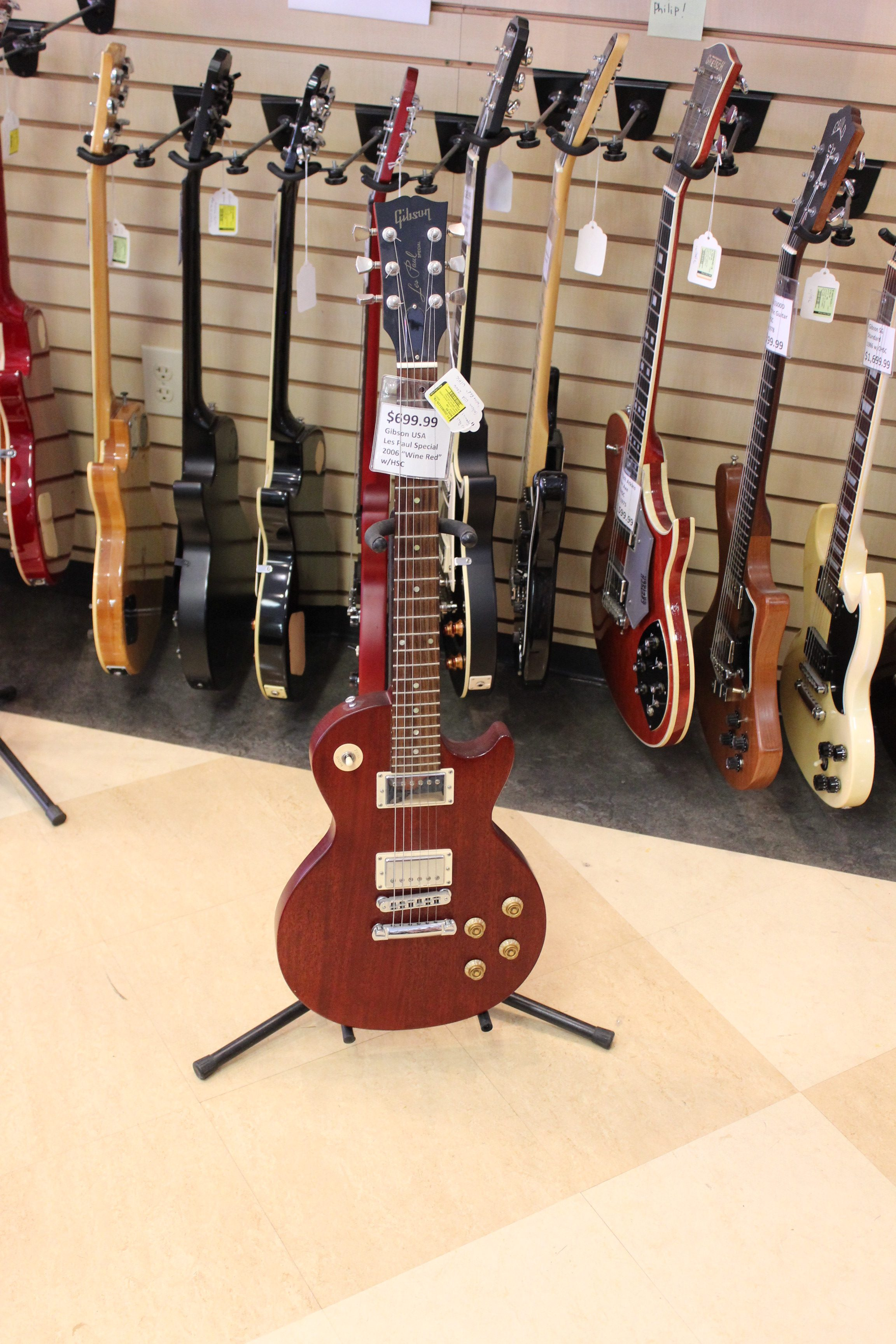 gibson usa les paul special electric guitar 2006 wine red used ted 39 s pawn shop. Black Bedroom Furniture Sets. Home Design Ideas