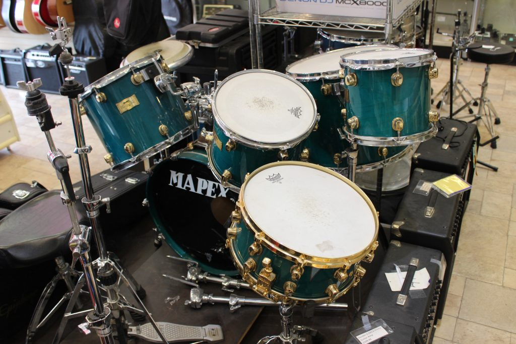 mapex orion classic series 5 piece drum set used ted 39 s pawn shop. Black Bedroom Furniture Sets. Home Design Ideas
