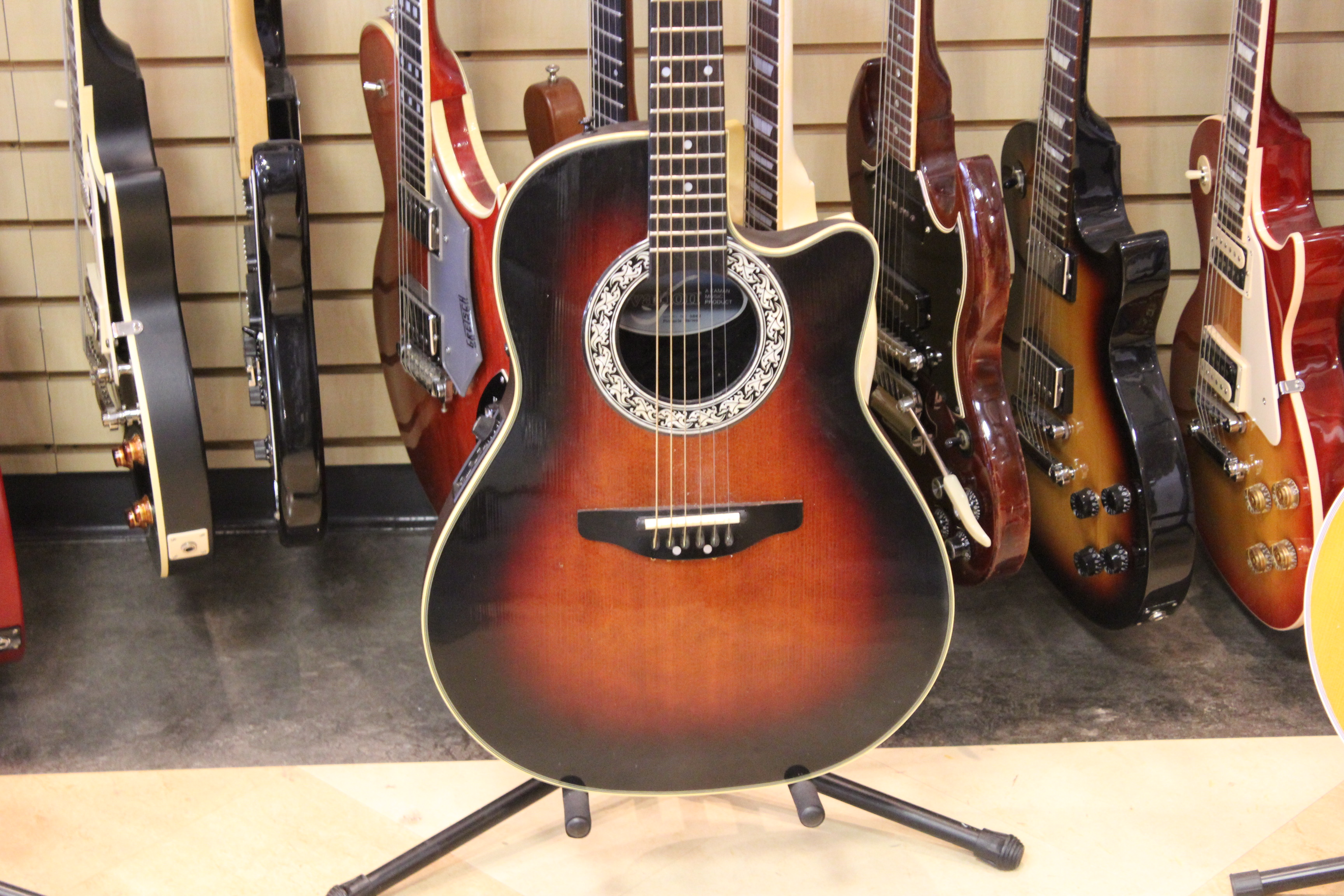 ovation 3862 pinnacle series acoustic electric guitar 1990 used ted 39 s pawn shop. Black Bedroom Furniture Sets. Home Design Ideas