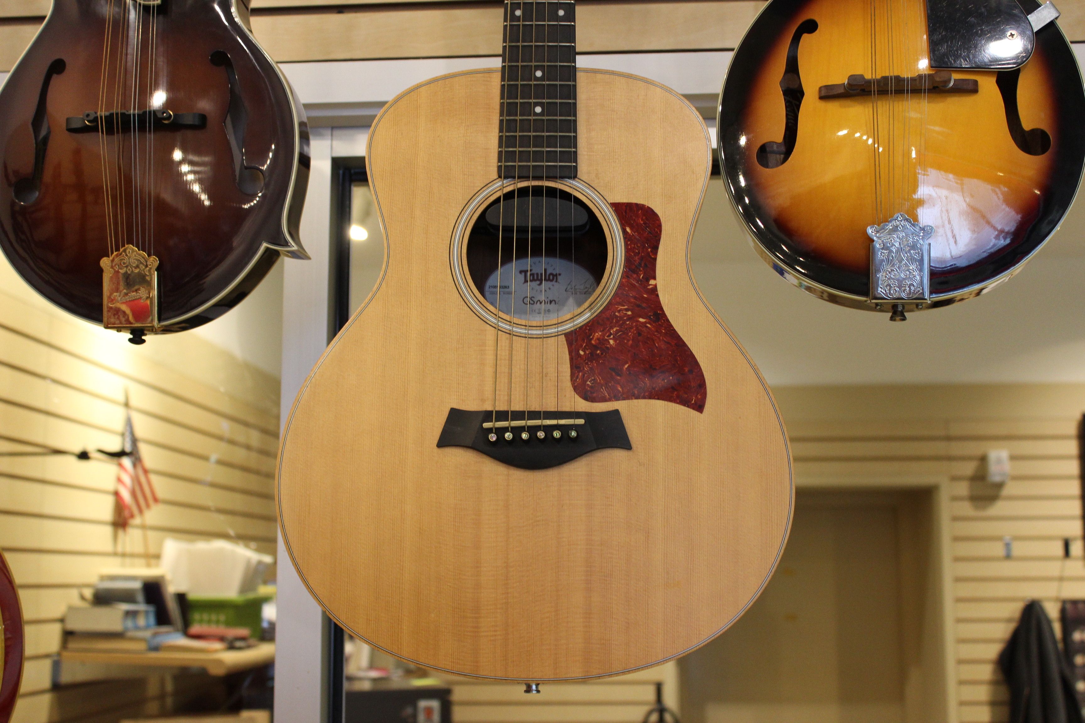 taylor gs mini acoustic electric guitar used ted 39 s pawn shop. Black Bedroom Furniture Sets. Home Design Ideas
