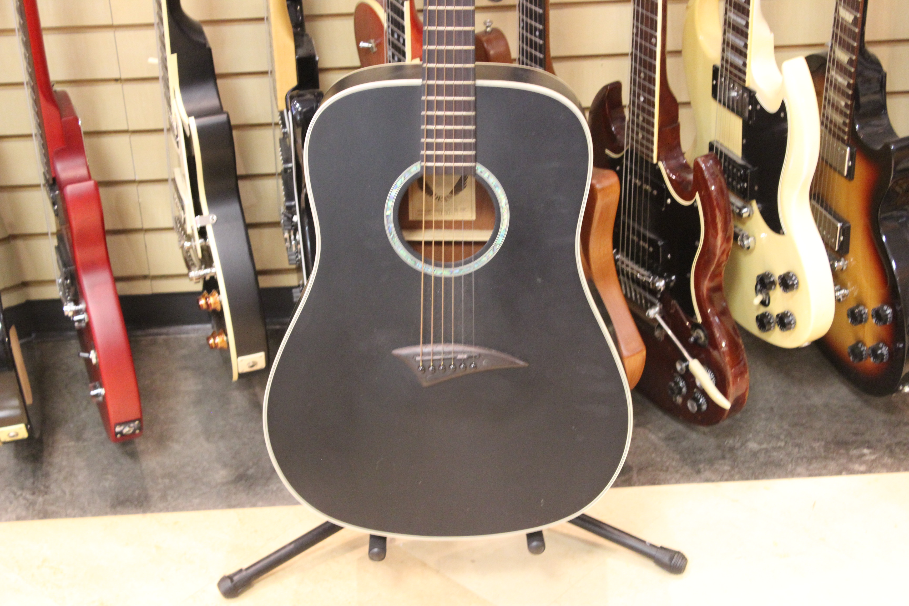 dean tradition one acoustic guitar used ted 39 s pawn shop. Black Bedroom Furniture Sets. Home Design Ideas
